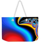 Raven, Dreaming By The Fire Weekender Tote Bag