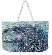 Raven - Oil Portrait Weekender Tote Bag