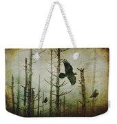 Ravens Of The Mist Artistic Expression Weekender Tote Bag