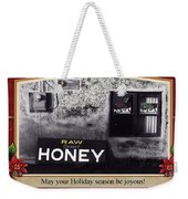 Raw Desert Honey Christmas Card Florence Arizona 2007 Weekender Tote Bag