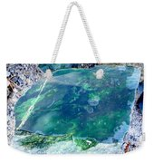 Raw Jade Rock Weekender Tote Bag