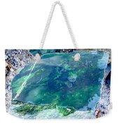 Raw Jade Rock Weekender Tote Bag