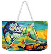 Raw Light Spills Weekender Tote Bag