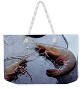 Raw Shrimp Weekender Tote Bag