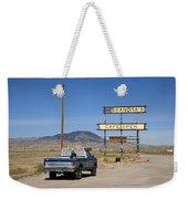 Rawlins Wyoming - Grandma's Cafe Weekender Tote Bag