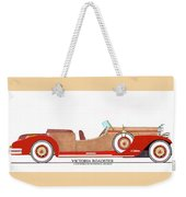 Ray Dietrich Packard Victoria Roadster Concept Design Weekender Tote Bag