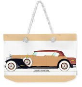 Raymond H Dietrich Packard Sport Phaeton Concept Weekender Tote Bag