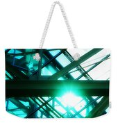 Rays And Beams Weekender Tote Bag
