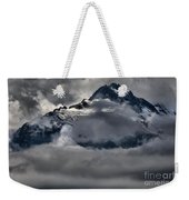 Rays Of Light On The Glaciers Weekender Tote Bag
