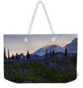 Rays Over Rainier Weekender Tote Bag
