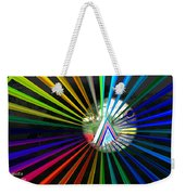 Rays To Triangle Weekender Tote Bag