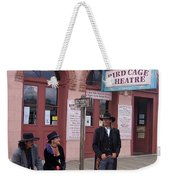 Re-enactors Bird Cage Theater Rendezvous Of The Gunfighters Tombstone Arizona 2004            Weekender Tote Bag