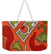 Red Hot Chili Pepper Martini With A Twist Weekender Tote Bag