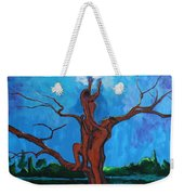 Reach For The Light My Sister Weekender Tote Bag
