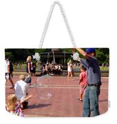 Reach Out And Grab The Bubble Weekender Tote Bag