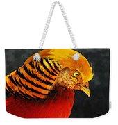 Read And Yello Bird Weekender Tote Bag