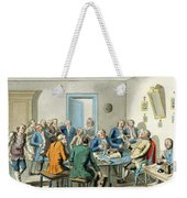 Reading A Will Weekender Tote Bag