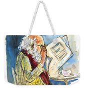 Reading The News 09 Weekender Tote Bag