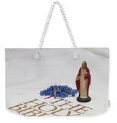 Ready For Prayer Weekender Tote Bag