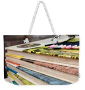 Ready For Reading And Art Weekender Tote Bag