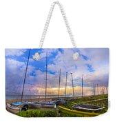 Ready For Sails Weekender Tote Bag by Debra and Dave Vanderlaan
