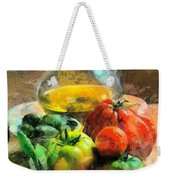 Ready For The Italian Sauce Weekender Tote Bag