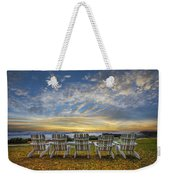 Ready For The Morning Weekender Tote Bag