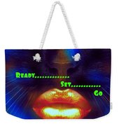 Ready Set And Go Weekender Tote Bag