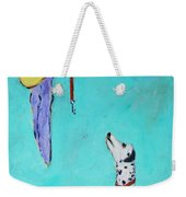Ready To Go Out Weekender Tote Bag