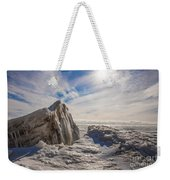 Ready To Let Loose Ice Formation Weekender Tote Bag