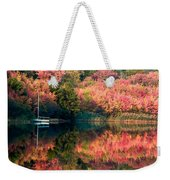 Ready To Sail In The Fall Colors Weekender Tote Bag