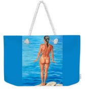 Ready To Take The Leap Weekender Tote Bag