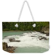 Rearguard Falls Of The Fraser River Weekender Tote Bag