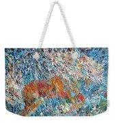 Rearing Stallion - Oil Portrait Weekender Tote Bag