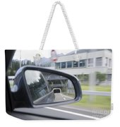 Rearview Mirror Weekender Tote Bag