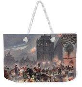 Reception Of Charles V In Amboise Weekender Tote Bag