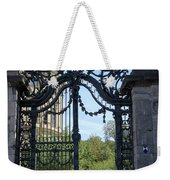 Recidence Garden Gate - Wuerzburg Weekender Tote Bag