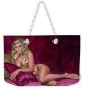 Reclining Beauty Weekender Tote Bag