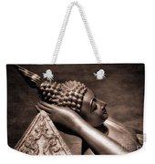 Reclining Buddha Weekender Tote Bag by Adrian Evans