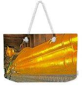 Reclining Buddha In Wat Po In Bangkok-thailand Weekender Tote Bag