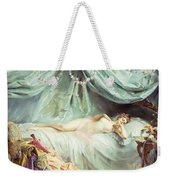 Reclining Nude In An Elegant Interior Weekender Tote Bag by Madeleine Lemaire
