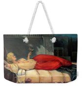 Reclining Woman Weekender Tote Bag