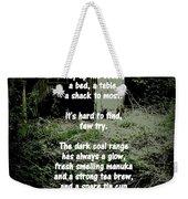 Recluse Weekender Tote Bag