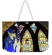 Recollection Union Soldier Stained Glass Window Digital Art Weekender Tote Bag