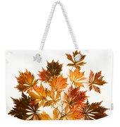 Reconstructed Full Moon Maple Weekender Tote Bag