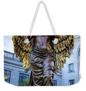 Recording Angel Weekender Tote Bag