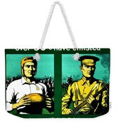 Recruiting Poster - Britain - Rugby Weekender Tote Bag