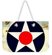 Recruiting Poster - Ww1 - Air Service Weekender Tote Bag by Benjamin Yeager