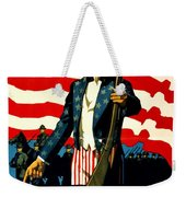 Recruiting Poster - Ww1 - Don't Wait For The Draft Weekender Tote Bag
