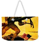 Recruiting Poster - Ww1 - Marines Over The Top Weekender Tote Bag